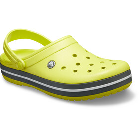 Crocs Crocband Clogs zoccoli, citrus/grey